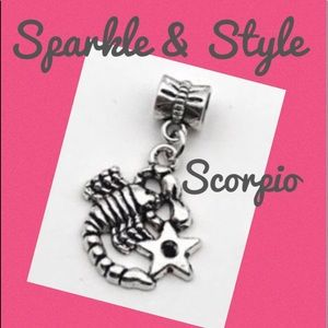 ✨ Scorpio zodiac bracelet charm ✨